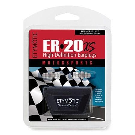 Etymotic ER20XS MOTORSPORTS High Definition Ear Plugs