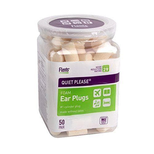 Flents Quiet Please PVC Foam Ear Plugs (NRR 29) (50 pair bottle)