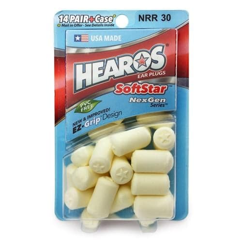 Hearos Softstar Earplugs for Sleeping