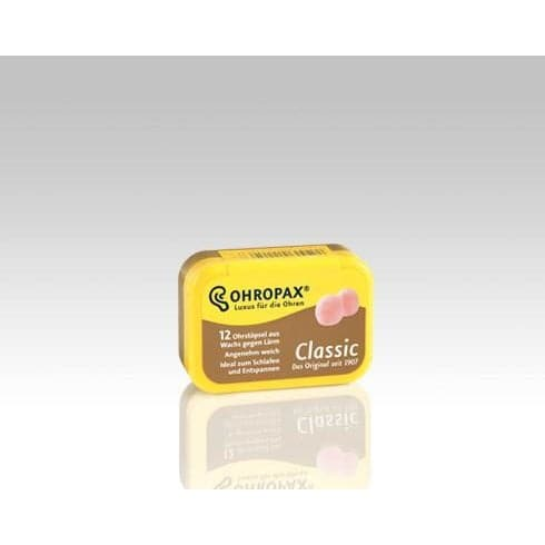 Ohropax Classic Wax and Cotton Ear Plugs