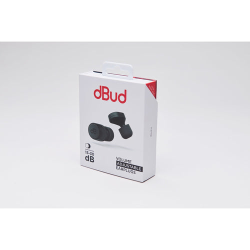 dBud - Volume Adjustable Ear Plugs