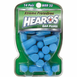 Hearos Original Formulation Xtreme Protection Ear Plugs (NRR 32) (14 pairs)