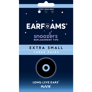 Flare Snoozers EARFOAMS Replacement Tips for Sleep