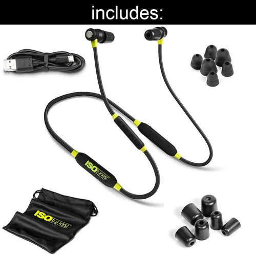 ISOtunes Xtra Noise Isolating Bluetooth Earbuds (NRR 27)
