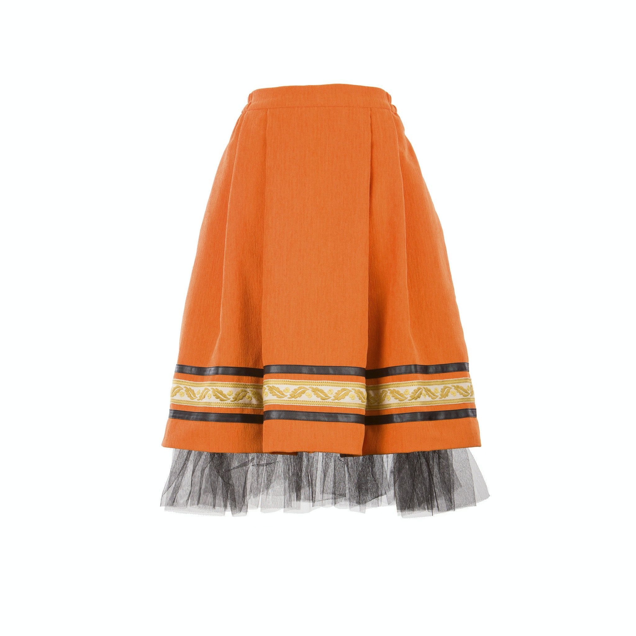 Skirt ANCA - orange (S-XXL)