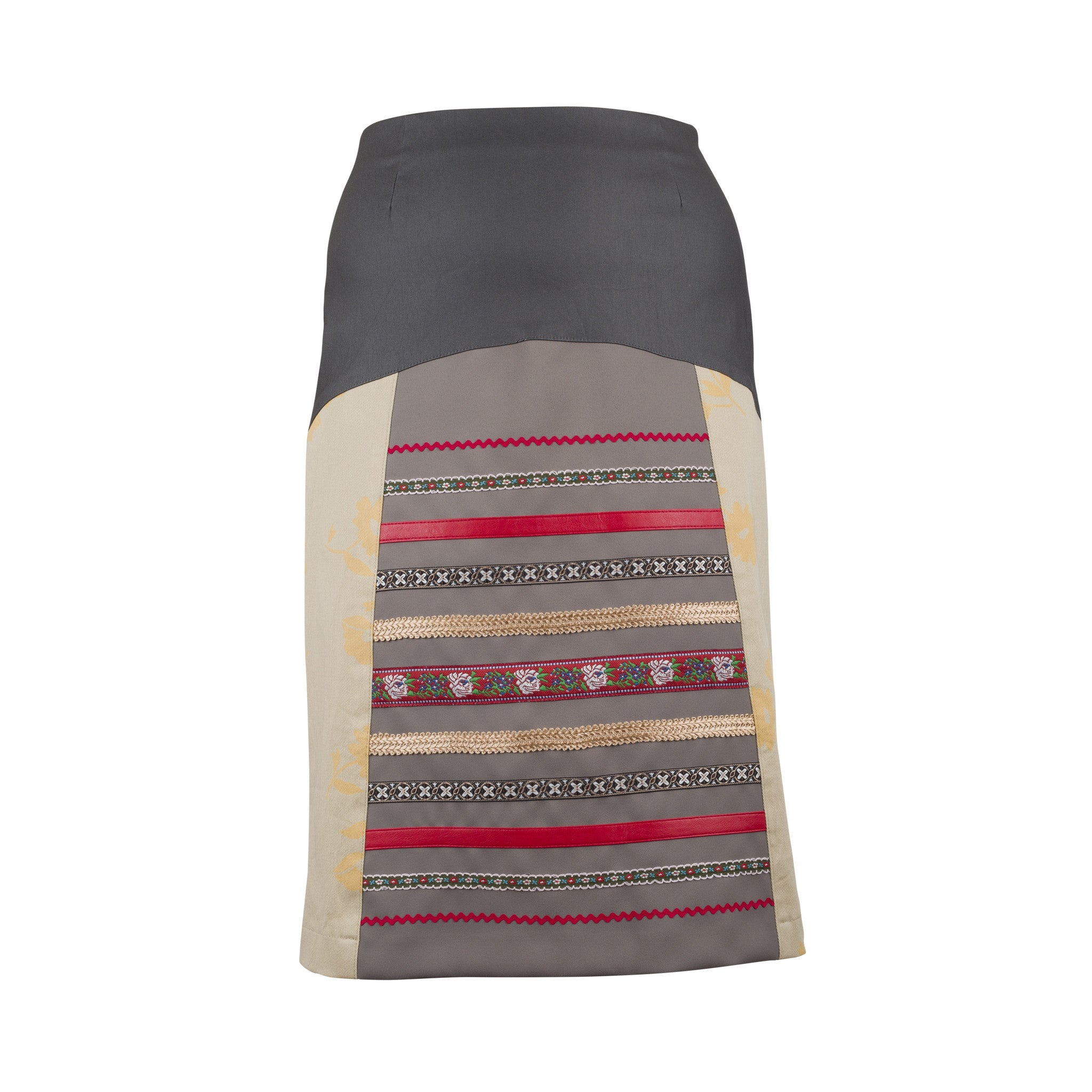 Skirt ANITA - beige (made to order)