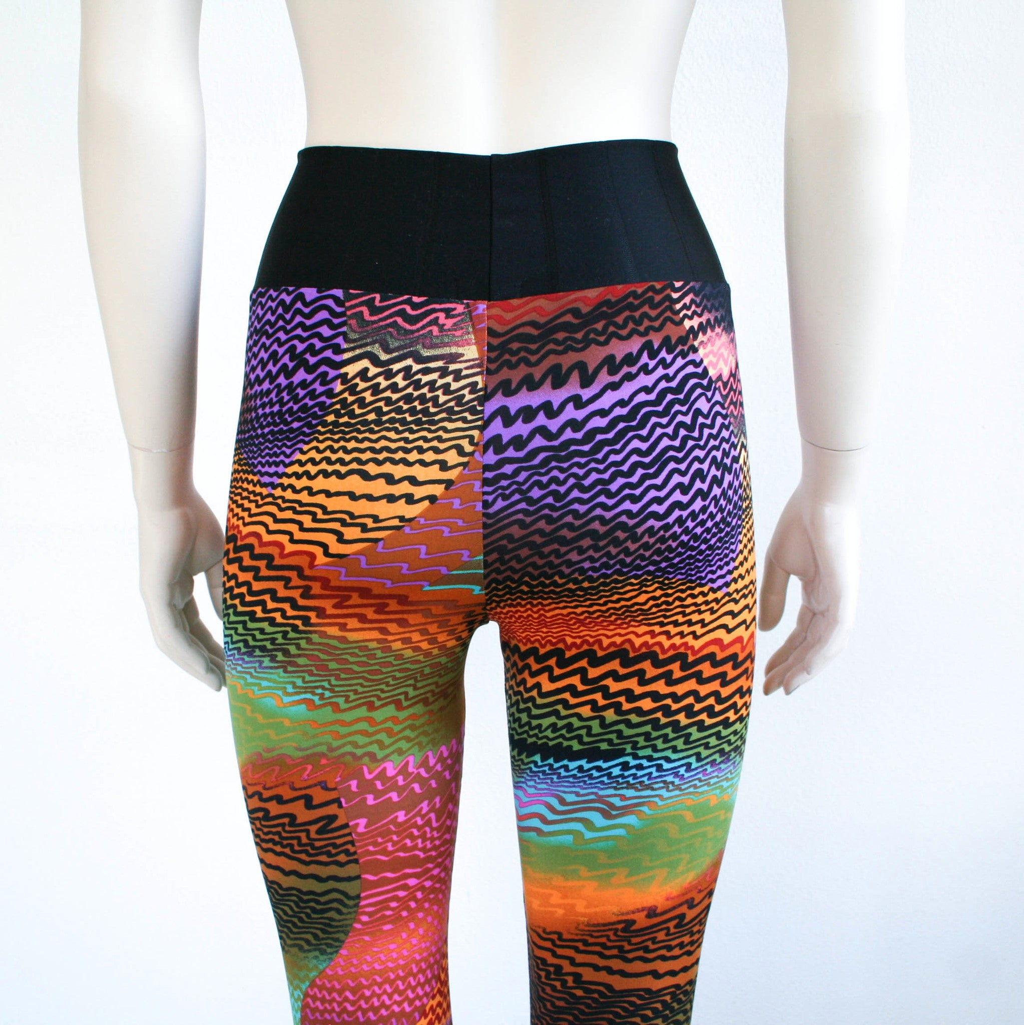 Leggings - abstract print (S-XXL)