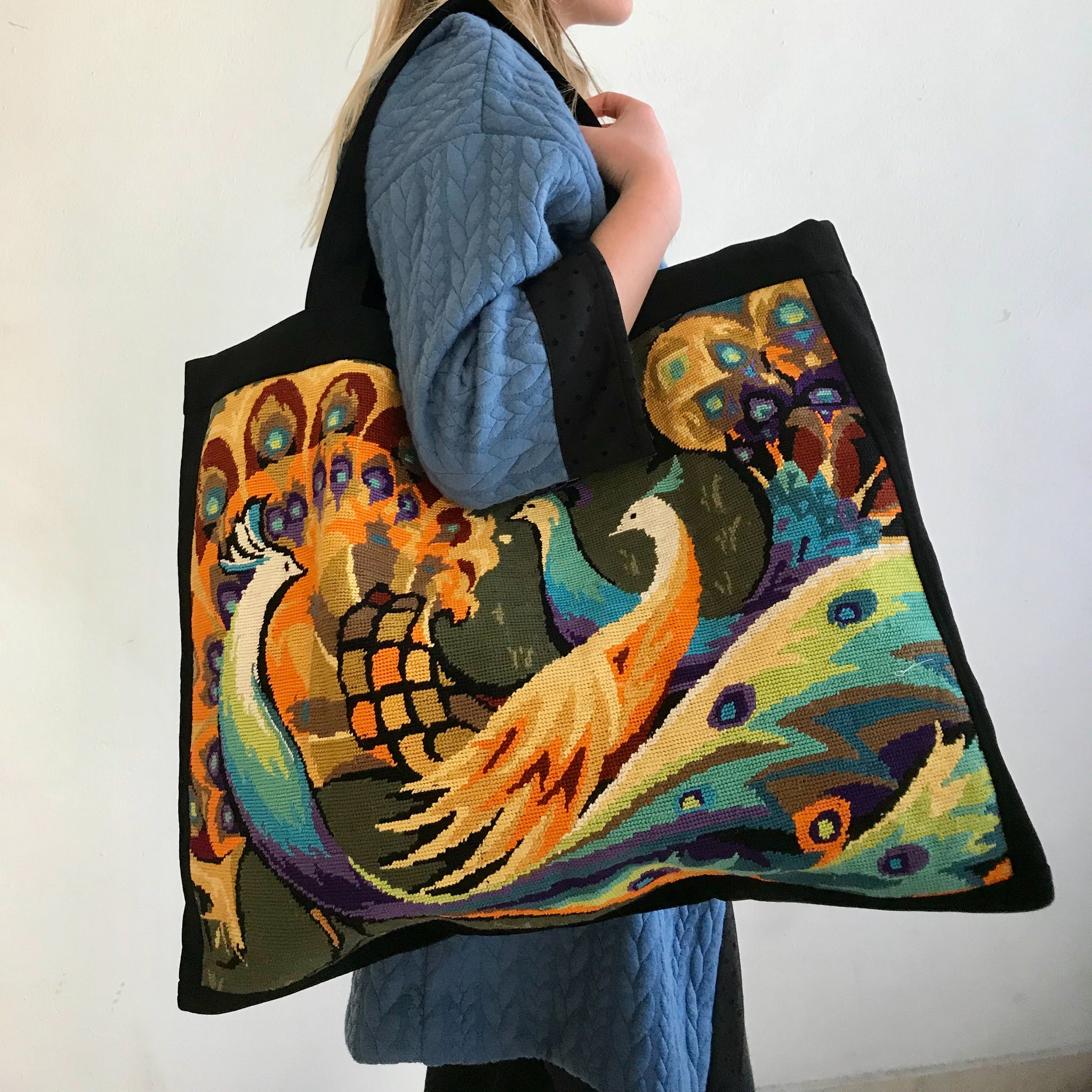 Bag PEACOCKs - tote bag