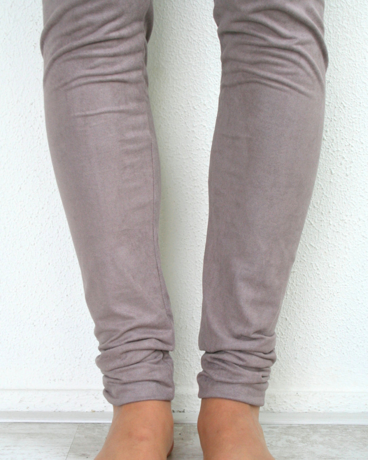 Leggings - vegan suede (S-XL)