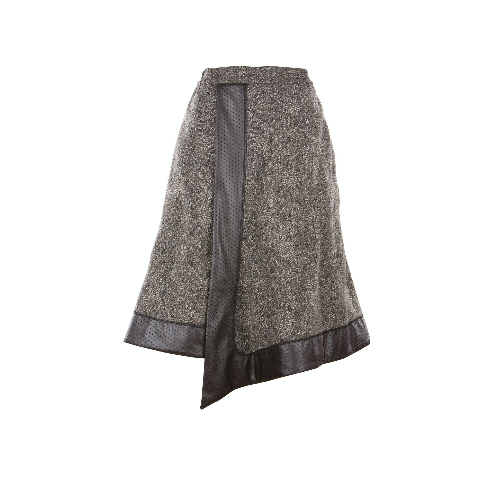 Skirt YARA - grey wool (made to order)