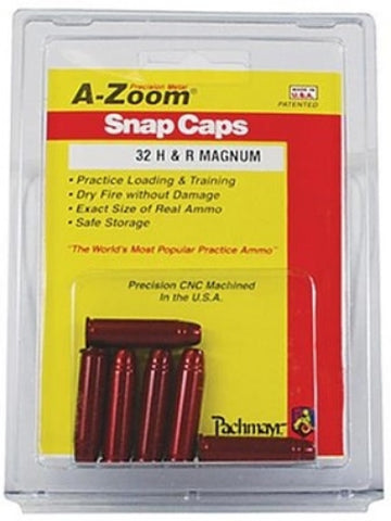 A-ZOOM 32 H&R METAL SNAP CAPS - 6 PACK - 16137