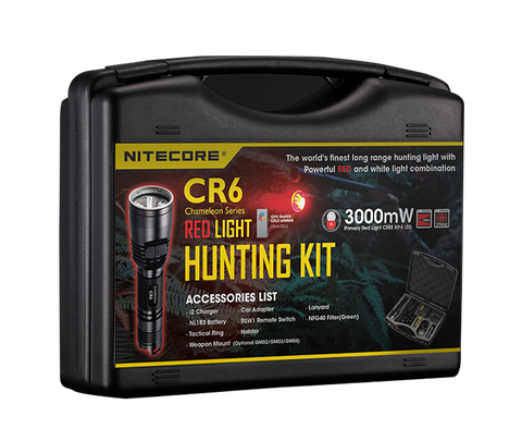 NITECORE CR6 440 LUMENS HUNTING NIGHT LIGHT KIT