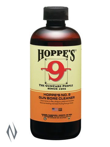 HOPPES NO 9 BORE SOLVENT 1 PINT - HP916  ULTIMATE RIFLE SHOTGUN CLEANER ***