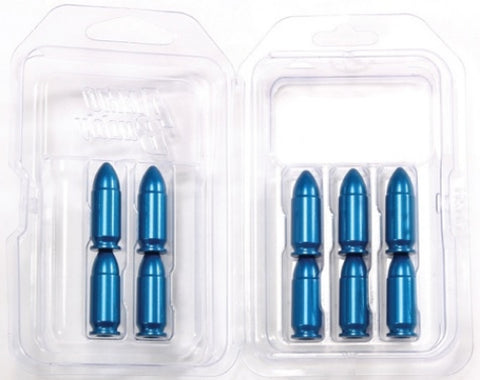 A-ZOOM BLUE 9MM LUGER SNAP CAPS 10-PACK - 15316