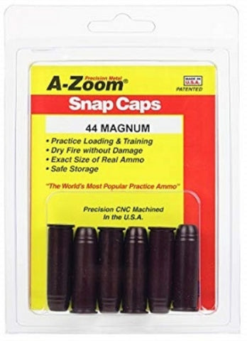 A-ZOOM 44 MAGNUM METAL SNAP CAPS - 16120 NOT AMMO
