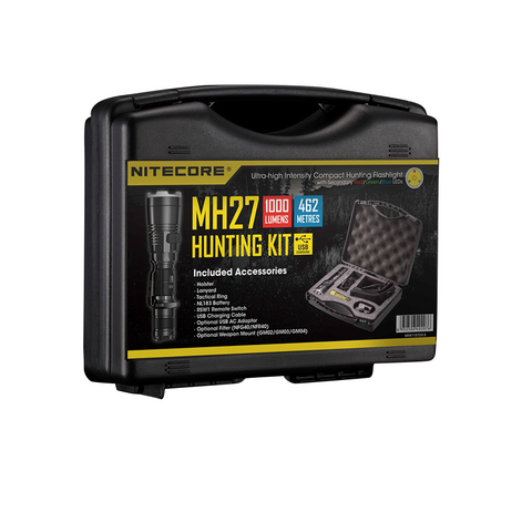NITECORE MH27 1000 LUMENS HUNTING NIGHT LIGHT KIT