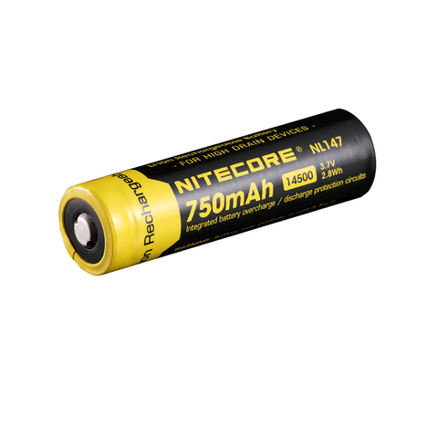 NITECORE 750MAH RECHARGABLE LI-ION 3.7V 14500 BATTERY NL147