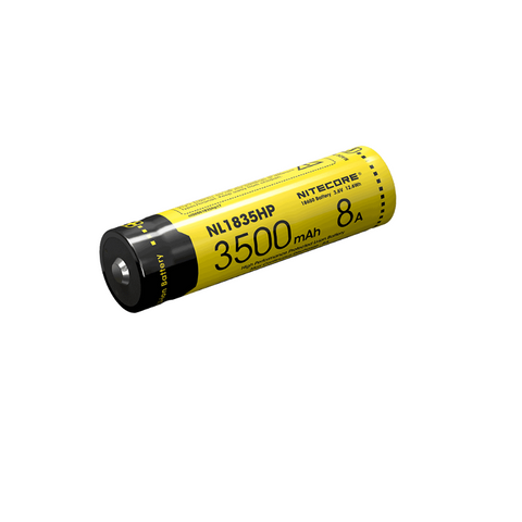 NITECORE 3500MAH RECHARGABLE LI-ION 18650 BATTERY NL1835HP