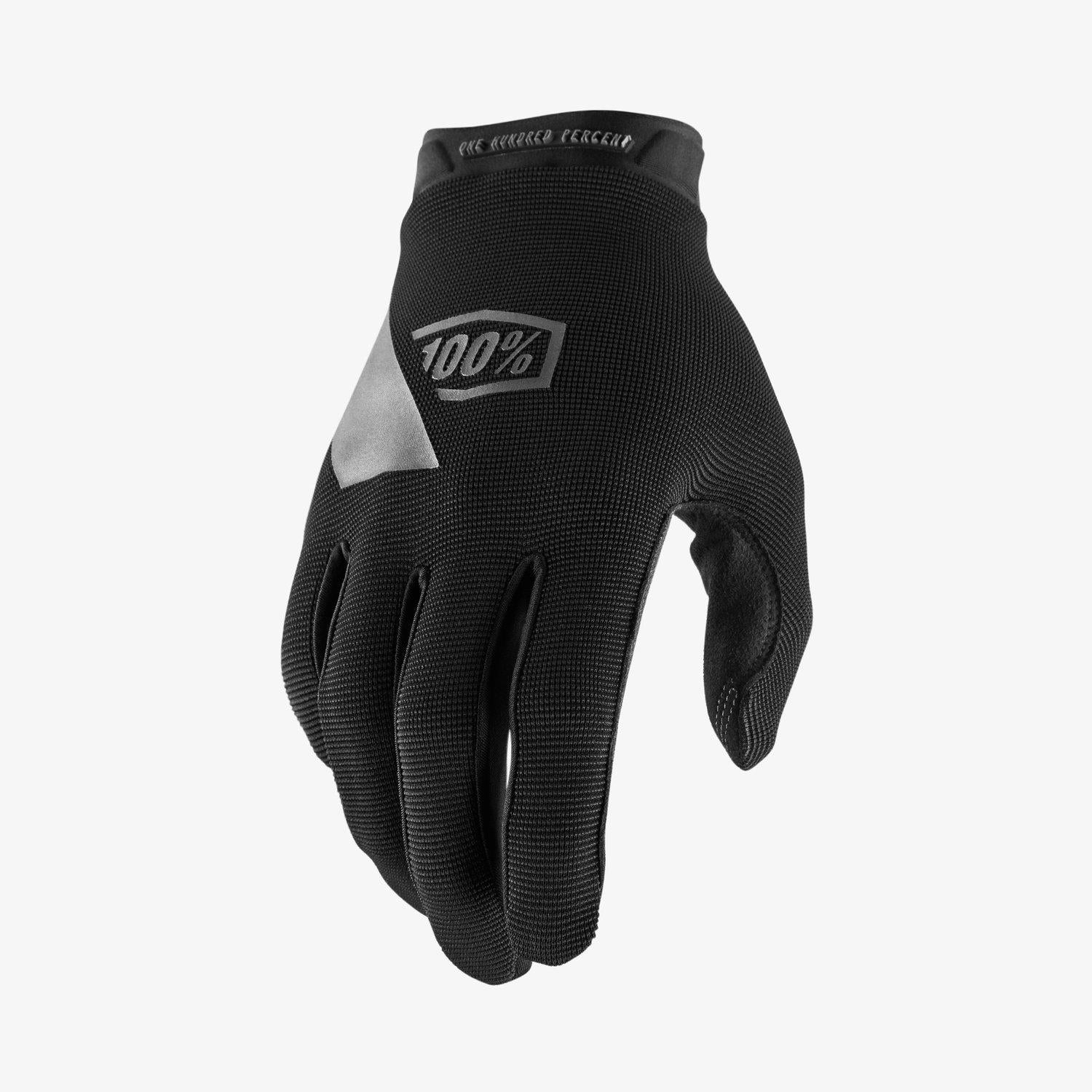 100% Ridecamp Race Gloves - Black