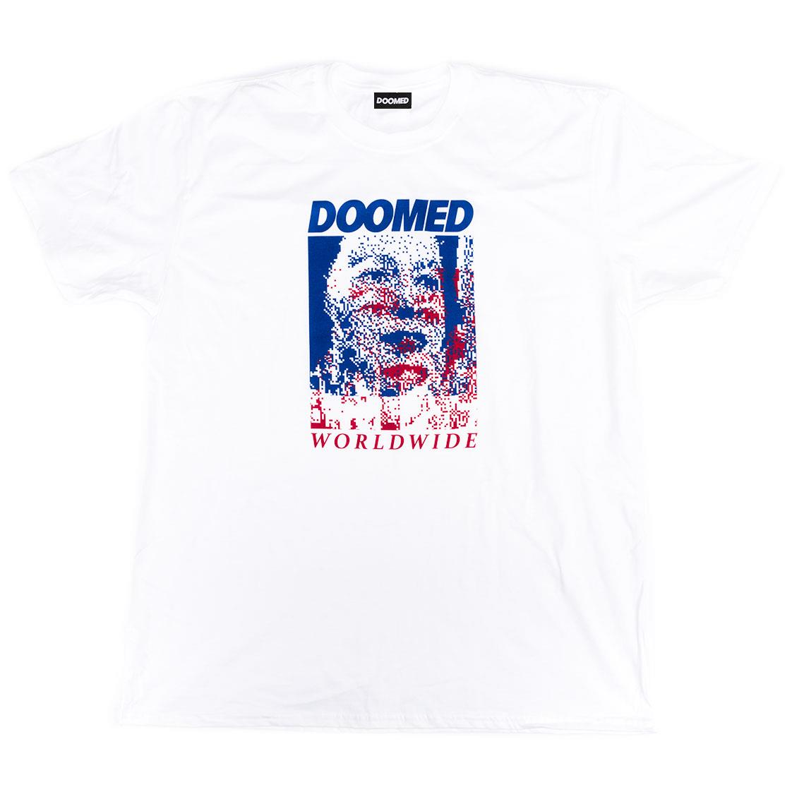 Doomed Face T-Shirt - White