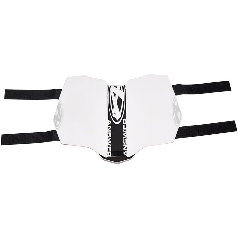 Answer BMX Race Side Number Plate - White/Black