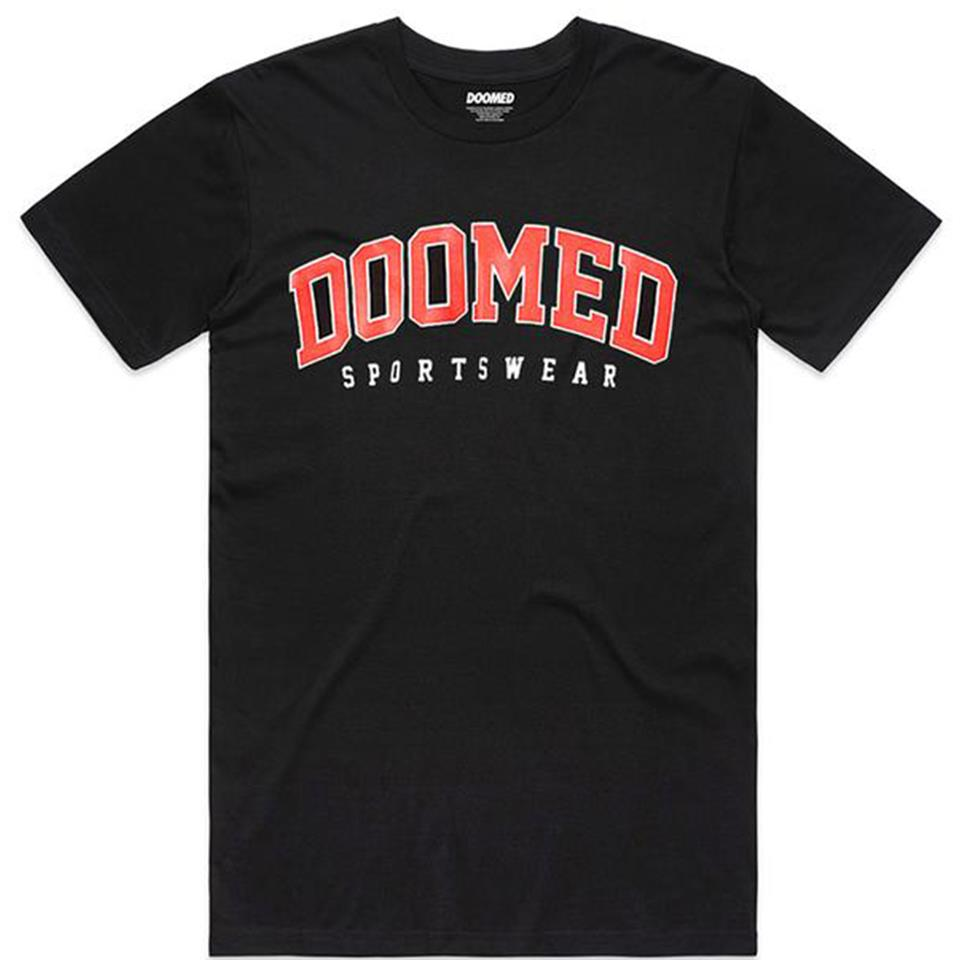 Doomed Drop Out T-Shirt - Black