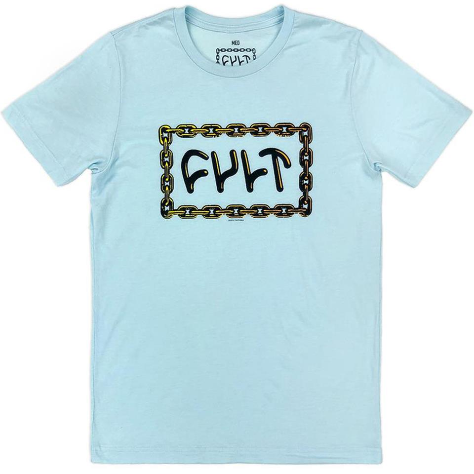 Cult For Life T-Shirt - Light Blue