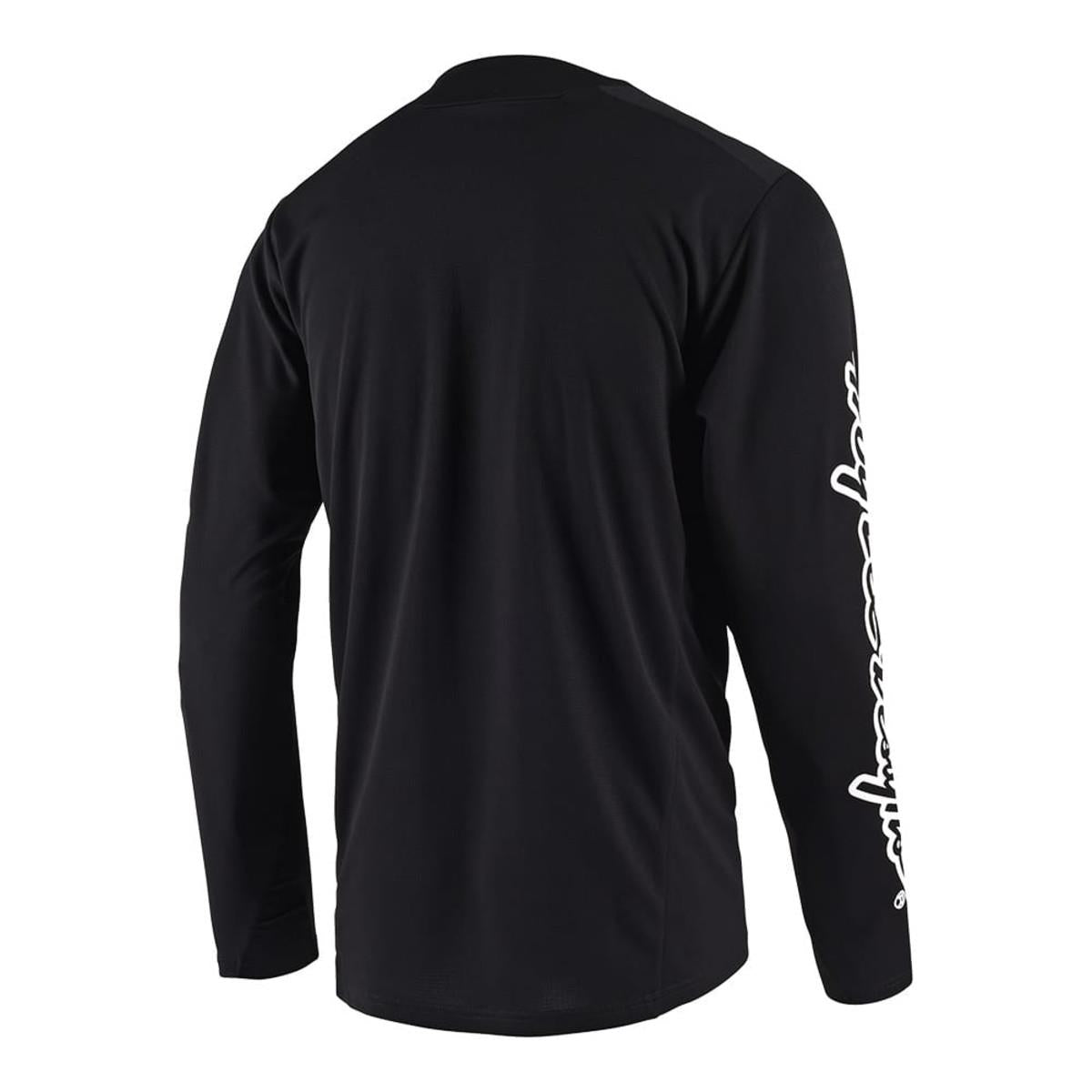 Troy Lee Sprint Solid Race Jersey - Black
