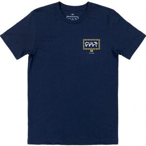 Cult Throw Away The Key T-Shirt - Navy