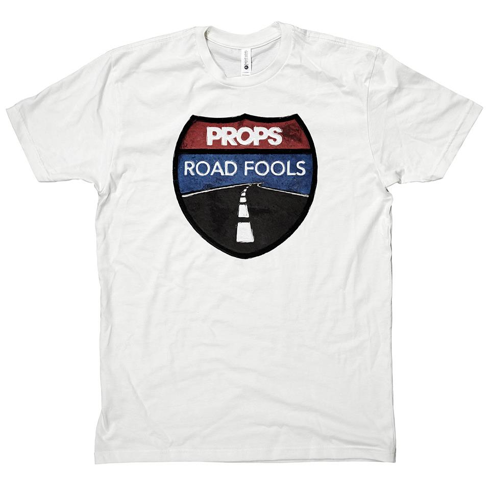 Props Road Fools T-Shirt White