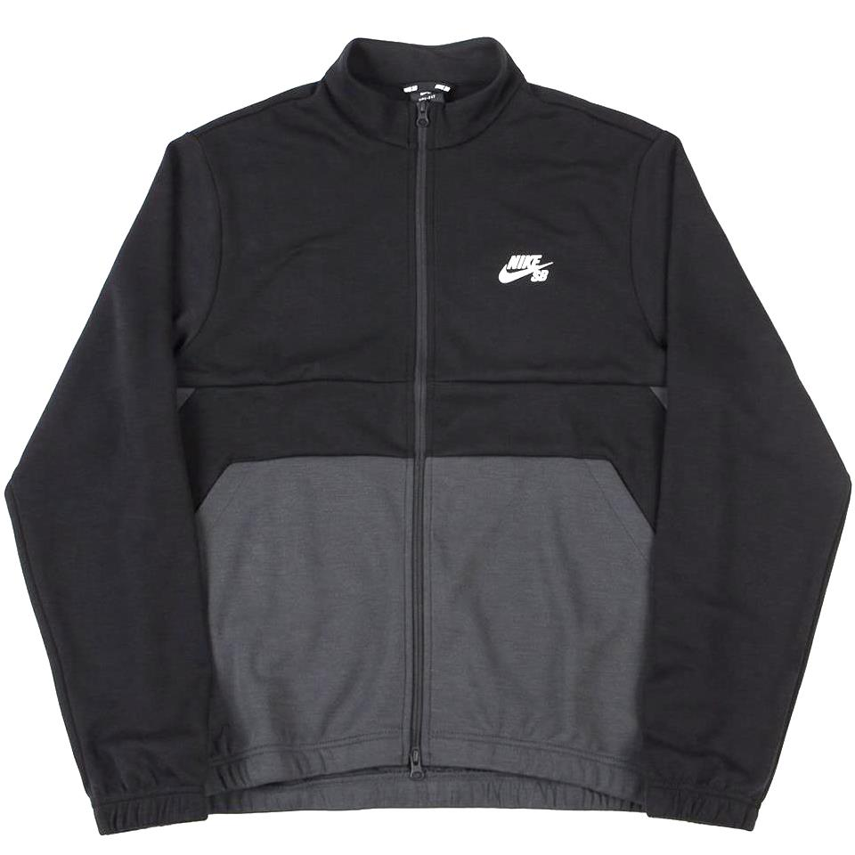 Nike SB Dri-Fit Men's Skate Track Jacket - Black/Anthracite/White