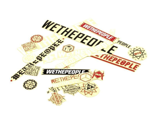 WE THE PEOPLE DEALER STICKER