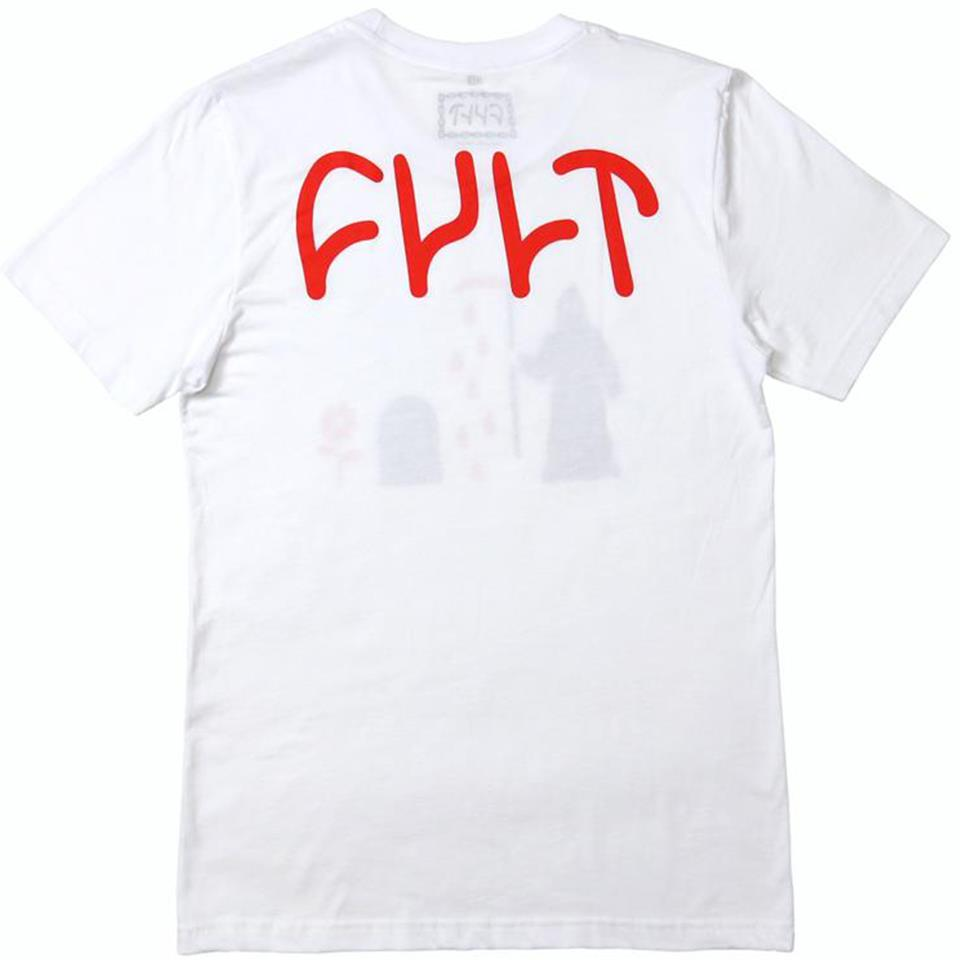Cult Hawk T-Shirt - White