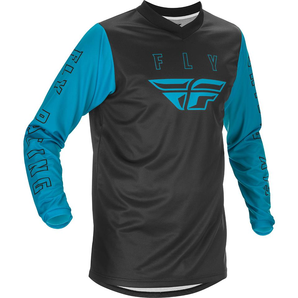 Fly Racing Youth F-16 Race Jersey - Blue/Black