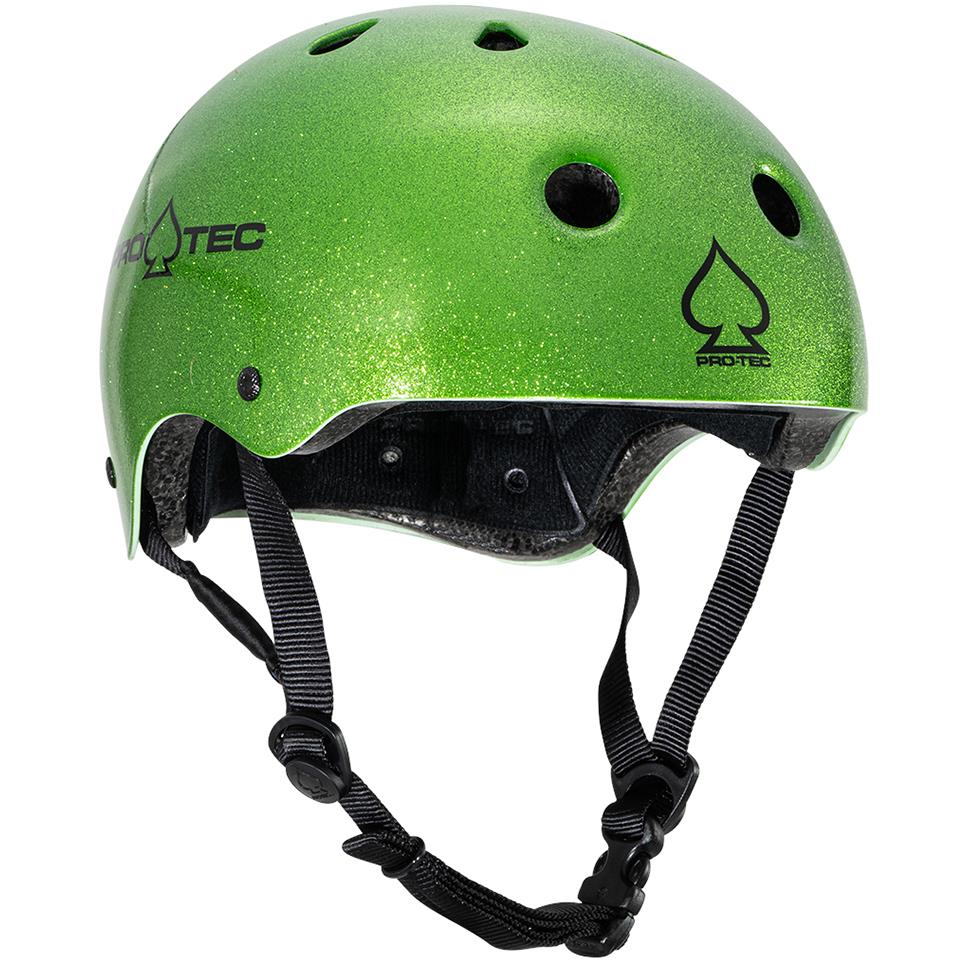 Pro-Tec Classic Certified Helmet - Candy Green Flake