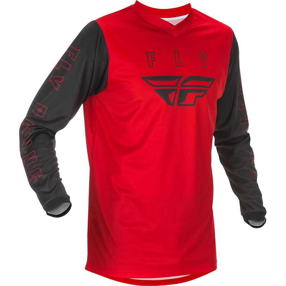 Fly Racing Youth F-16 Race Jersey - Red/Black