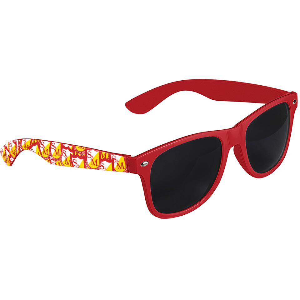 S&M Shield Shades - Red