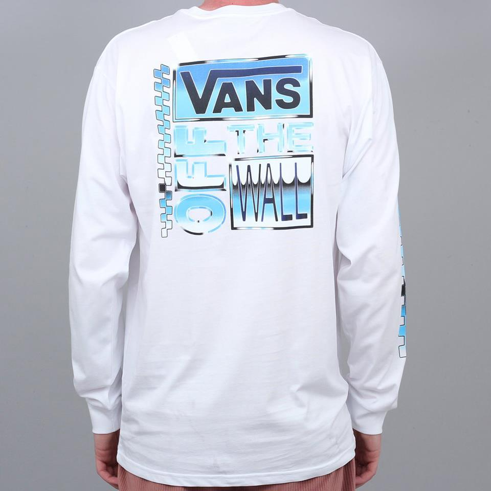 Vans AVE Chrome Long Sleeve T-Shirt - White