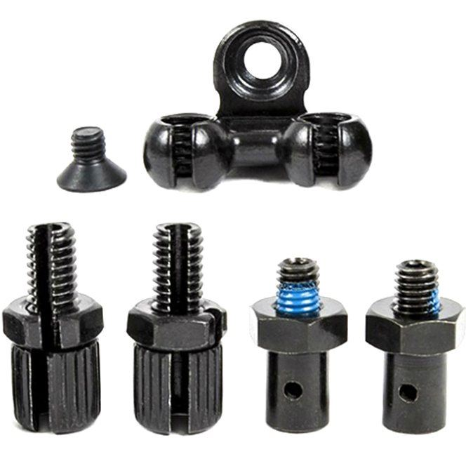 Shadow Sano Detangler Brake Stop kit Black