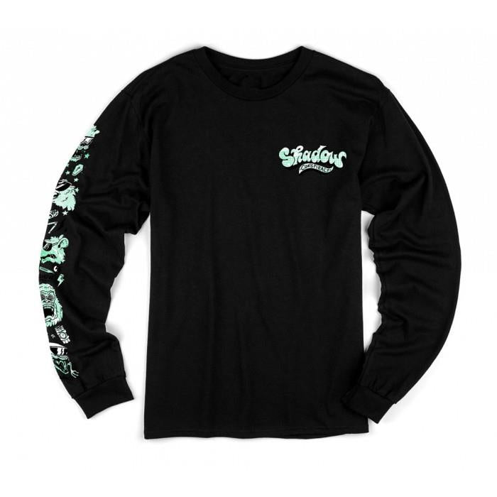 Shadow Shades Longsleeve Tee - Black