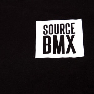 Source Block Premium Longsleeve Tee - Black