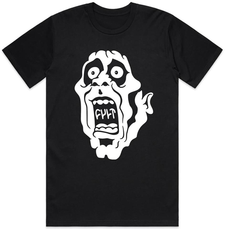 Cult Screamer T-Shirt - Black