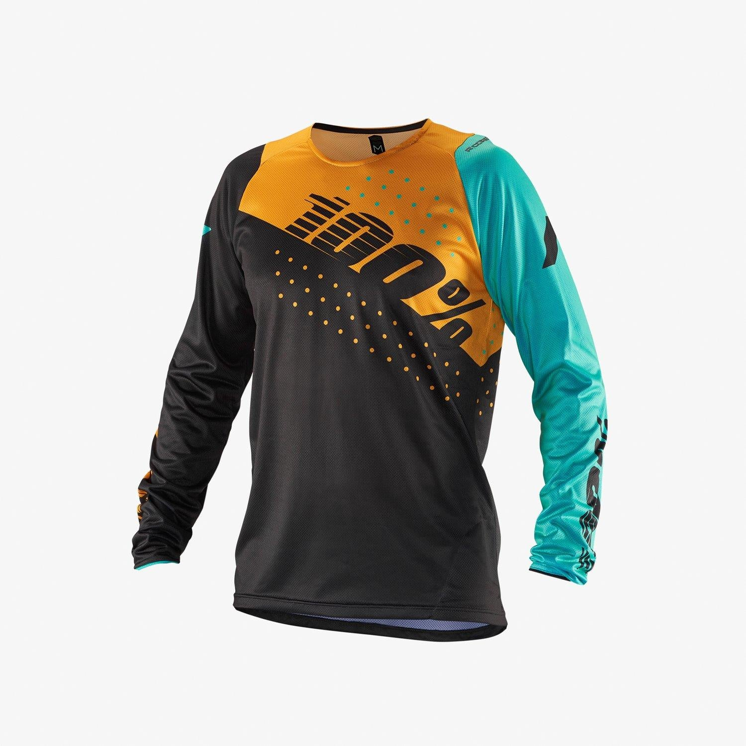 100% R-Core Race Jersey - Charcoal