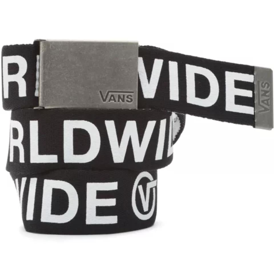 Vans Long Depster Web Belt - Black/White