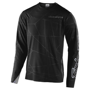 Troy Lee Sprint Ultra Podium Race Jersey - Black/Silver