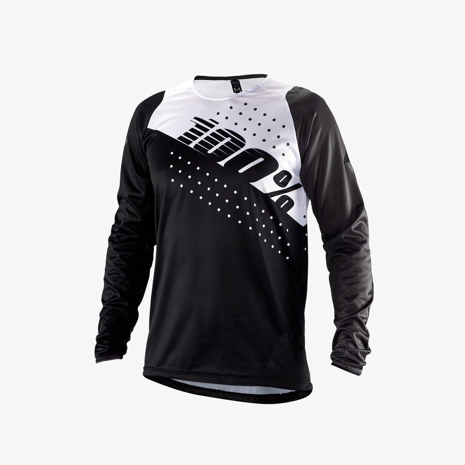 100% R-Core Race Jersey - Black