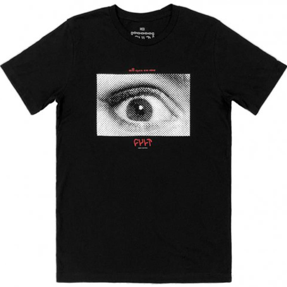 Cult All Eyes T-Shirt - Black