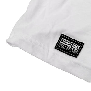 Source Block Premium Tee - White