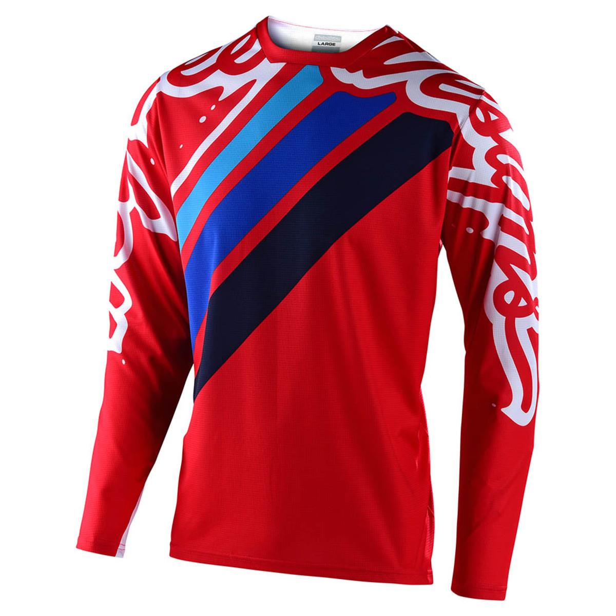 Troy Lee Sprint Seca 2.0 Race Jersey - Red/Navy