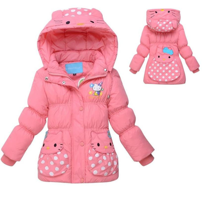 Hello Kitty 80% Down Coat 2T-4T 1003